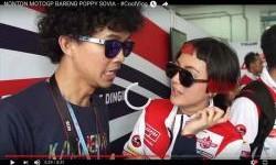 Video Poppy Sovia di Paddock Federal Oil Gresini Racing, Ngapain ya Dia? Lihat yuk...
