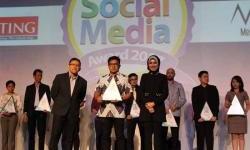 Federal Oil Raih Social Media Award 2017