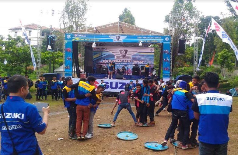 Emban Visi Ramah Lingkungan, Suzuki Bike Meet Bikin Heboh Jawa Tengah