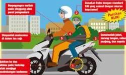 5 Cara Aman Menjadi Boncenger Sepeda Motor, Point Terakhir Sering Dilanggar