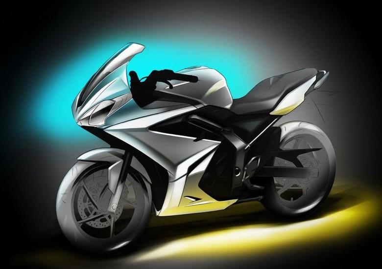 Bajaj-Triumph Bikin Motor Bersama, Inikah Desaign Pertamanya?