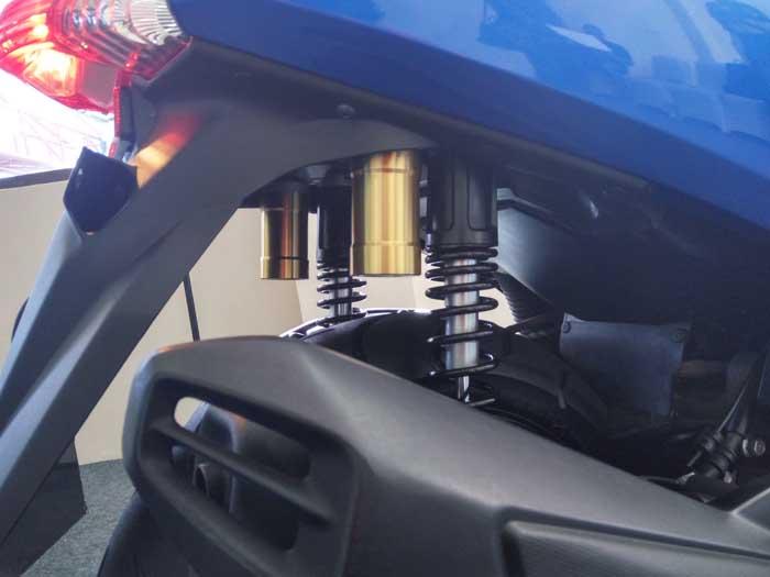 Begini Cara Upgrade Sok Belakang Yamaha NMAX Lama ke Versi Terbaru