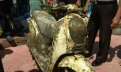 Honda Scoopy ini Ditemukan di Dasar Laut, Begini Ceritanya...
