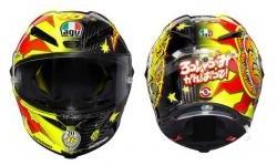 AGV Pista GP R Special Edition Rossi Pensiun Dibuat Sangat Terbatas