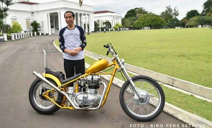 Initip Spek dan Harga Motor Chopper Jokowi yuk...