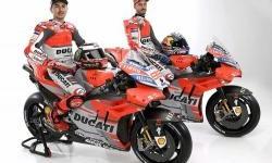 Tim Ducati MotoGP Pakai Baju Baru, Dominan Silver