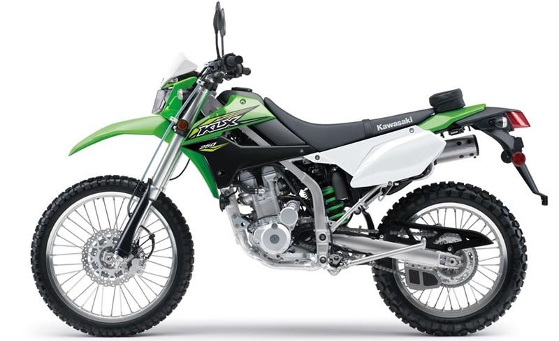 Kawasaki Siapkan KLX250 Model Terbaru