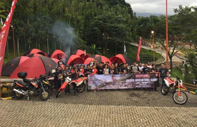 WMS Tangerang Ajak Komunitas Honda Camping Bersama CRF 150, Seru!