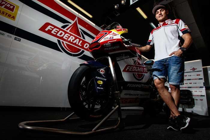 Produsen Knalpot LeoVince Resmi Gabung Dengan Federal Oil Gresini Racing Tim Moto2