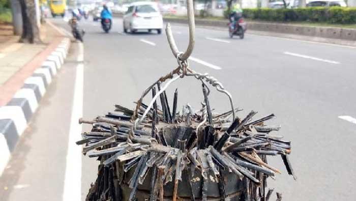 Ini dia Lokasi-lokasi yang Rawan Ranjau Paku di Jakarta
