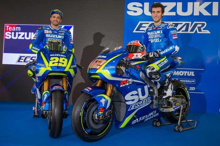 Bersama Rins dan Iannone, Suzuki Ecstar Remi Mengenalkan GSX-RR 2018 MotoGP