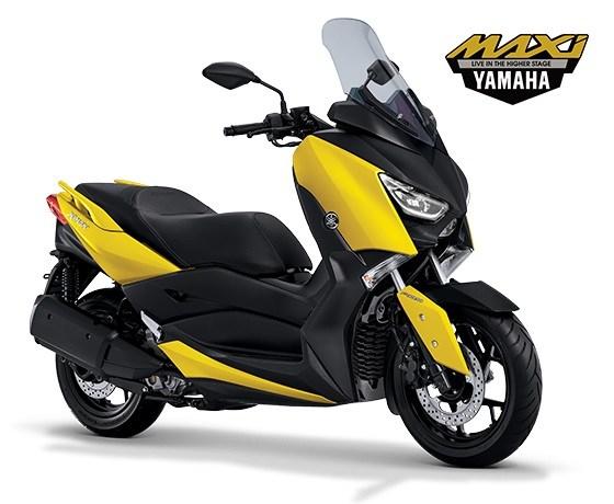 Tahukah Anda Warna Yamaha XMax yang Paling Laris di Pasaran?