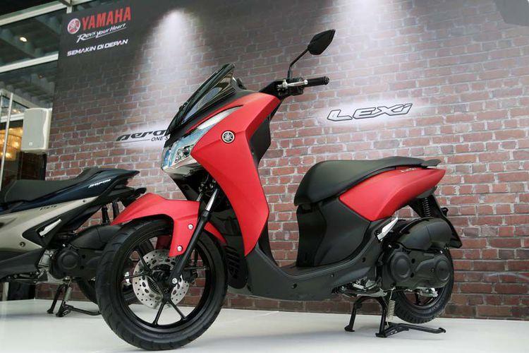 Yamaha : Lexi 125 Bisa Bawa Galon air, Pertama Di Indonesia