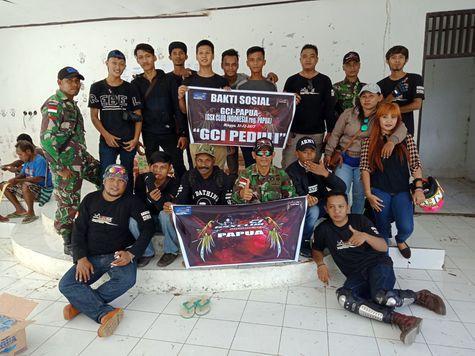 Apa Jadinya Jika Club Suzuki GSX lakukan Baksos di Perbatasan Papua?