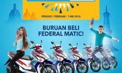 Federal Oil Funtastic Matic Jawa Tengah Berhadiah Motor, yuk Kirim Undiannya ke Bengkel ini