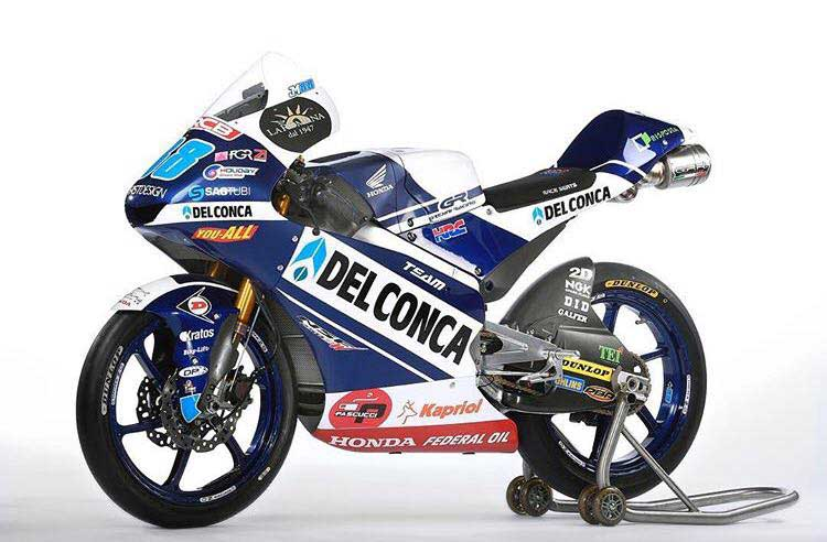 Del Conca Gresini Moto3 Resmi Disponsori Federal Oil, Seperti Ini Tampilan Motor Balapnya