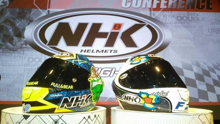 Helm Lokal asal Indonesia ini akhirnya jadi Sponsor di Balap MotoGP, Keren!