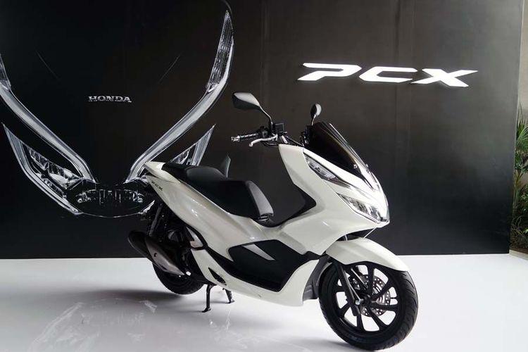 Honda PCX 150 2018 Rakitan Lokal, Sama dengan Harga Yamaha NMAX?