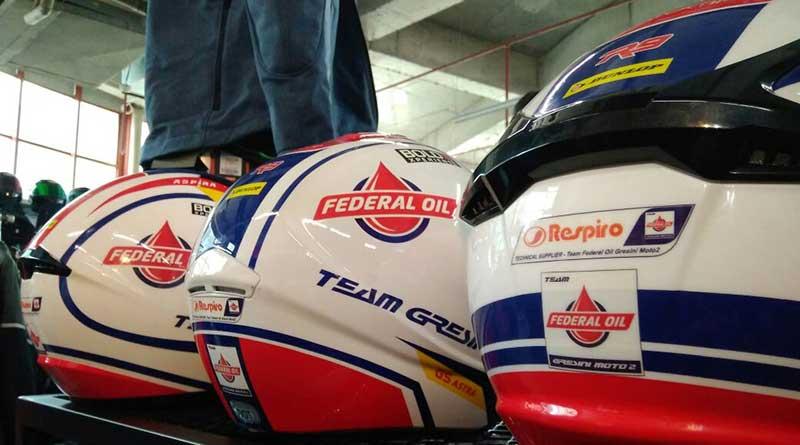 Helm Livery Federal Oil Gresini Racing Moto2 Hadir di Jakarta Helmet Exhibition, Sudah Bisa Dipesan