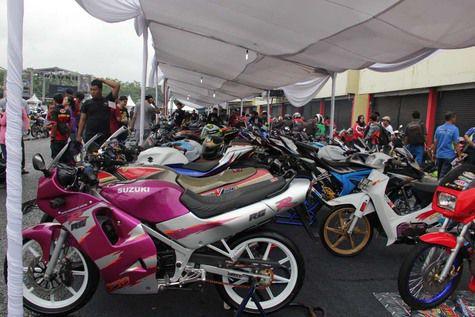 Suzuki Indonesia Kopdar Libatkan 3.000 Bikers, Keren! ada Andrea Iannone dan Alex Rins juga