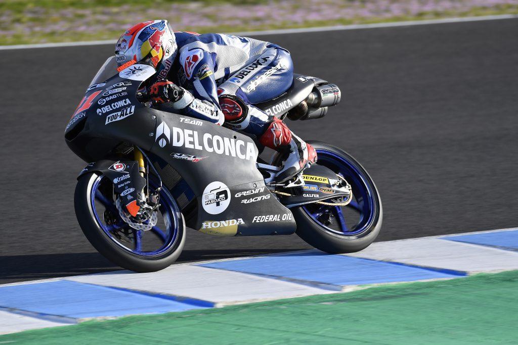 Gebrakan Tim Kolaborasi Federal Oil dan Gresini Moto3 di Sesi Tes Pra-Musim Spanyol