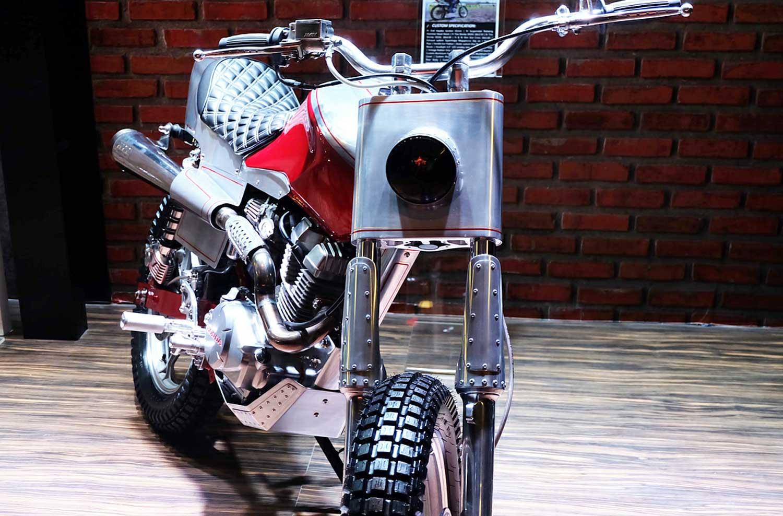 Yuk Intip Spek Modifikasi Flat Track Honda CB150 Verza Milik AHM