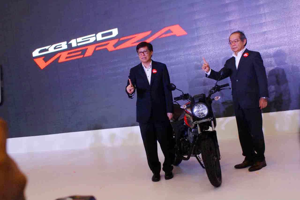 Yang Terbaru dari motor Sport AHM, All New Honda CB150 Verza