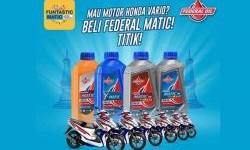 Beli Federal Oil Matic Gratis Motor Matic, Mau gak Feders?