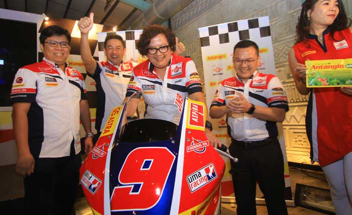 Antangin dan Federal Oil Angkat Nama Indonesia Melalui ajang Balap Moto2