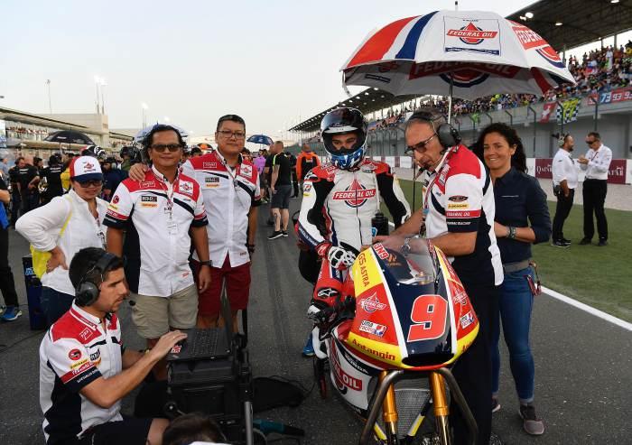 Pimpinan MPM Lubricants Kawal Jorge Navarro ke Grid Start Moto2 Qatar 2018