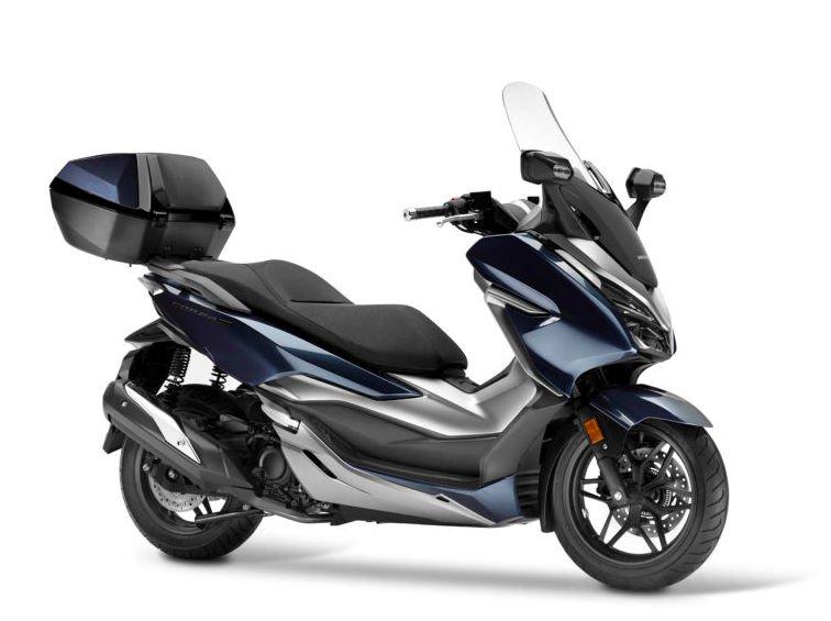 Enggak Mau Kalah dengan Burgman, Maxi Skutik Honda Forza telurkan Produk Baru