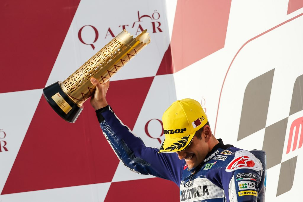 Kolaborasi Honda dan Federal Oil Antarkan Jorge Martin ke Podium Puncak di Moto3 Qatar