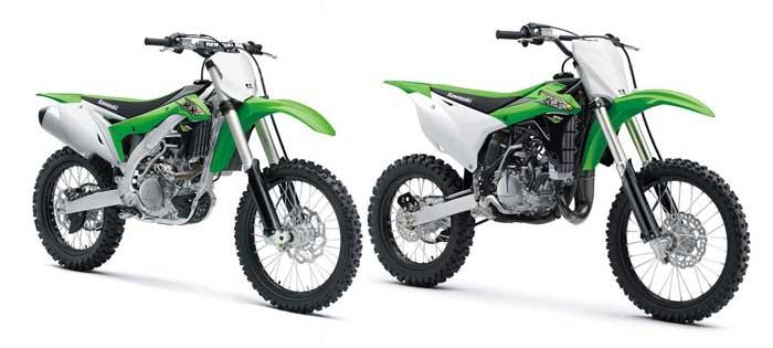 Beda Kawasaki KLX dan KX, Mirip sih..tapi KX Bukan untuk Jalan Raya