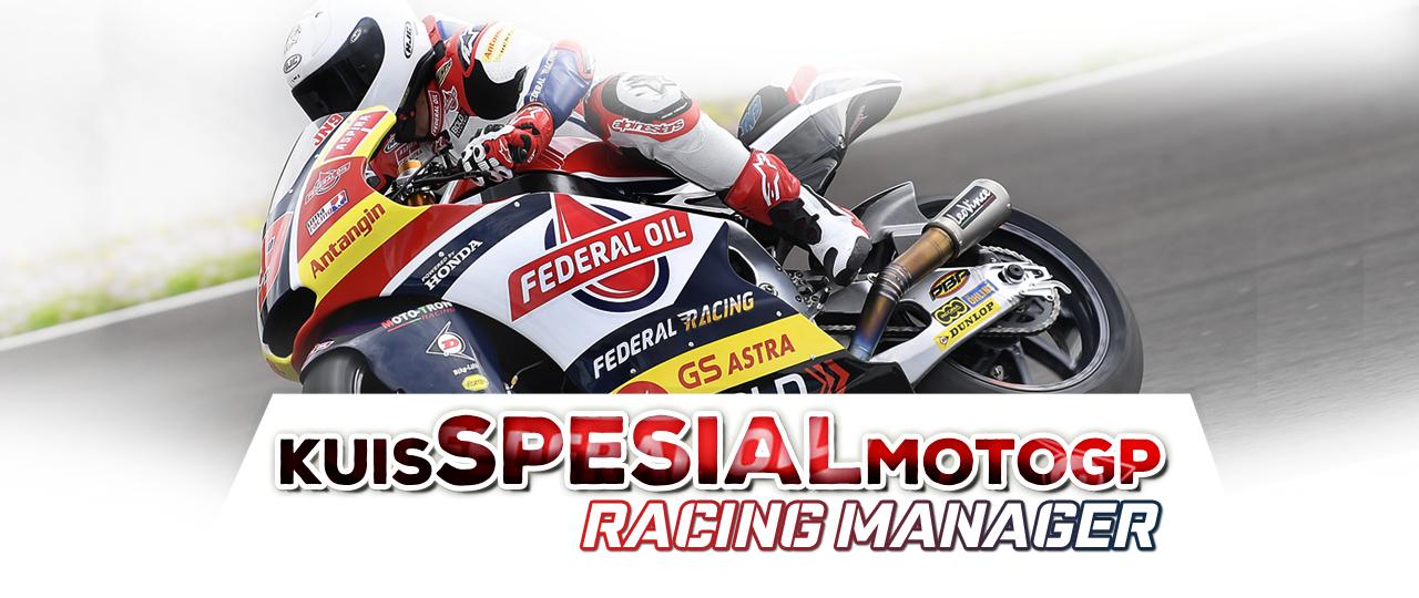 Ayo Ikutan Kuis Spesial MotoGP Racing Manager Garapan Federal Oil, Hadiah Utamanya Motor !