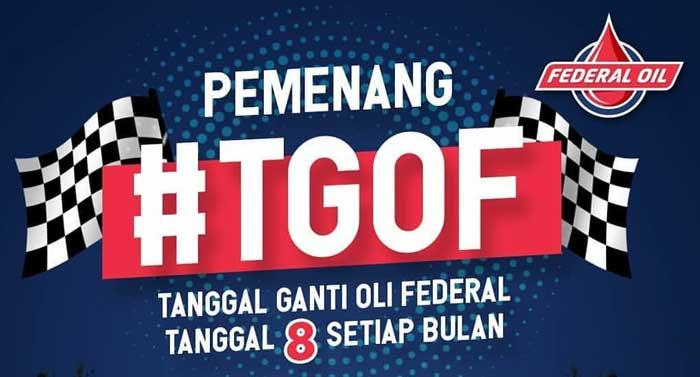 Pengumuman Pemenang Kompetisi Selfie #TGOF di Bulan Maret