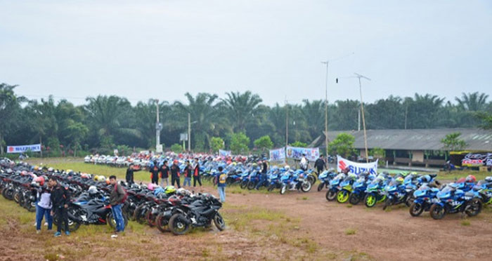 Suzuki GSX Community Rayakan Hari jadi Pertama di Subang, Wih Selamat ya!