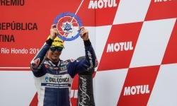 Fabio Di Giannantonio Naik Podium di Moto3 Argentina