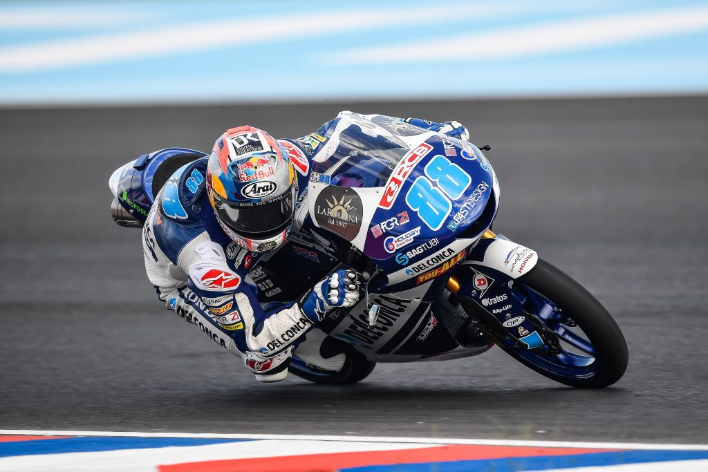 Jorge Martin Buka Sesi Latihan di Moto3 Argentina Dengan Baik