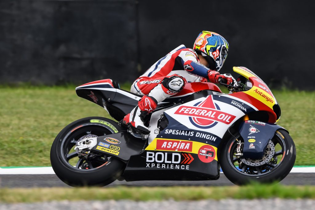 Moto2 Argentina, Ditabrak Pebalap Lain, Jorge Navarro Gagal Finish
