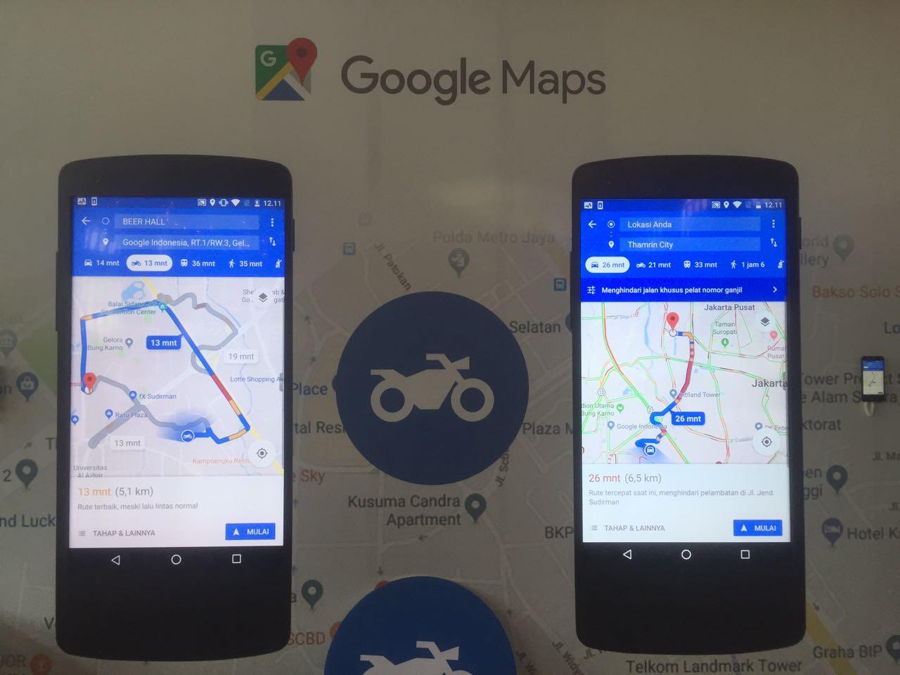 Google Maps Perkaya Fitur Untuk Manjakan Pengendara Motor