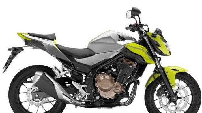 Warna Baru Honda CB500F, Makin Keren