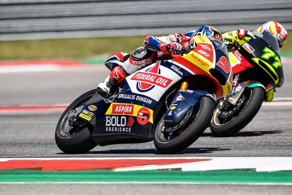 Jorge Navarro Menuai Poin Penting di Moto2 Amerika