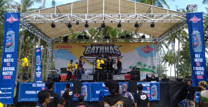 Gathering Nasional Yamaha NMAX Club Indonesia, Gandeng Federal Matic 40 Force Maxx