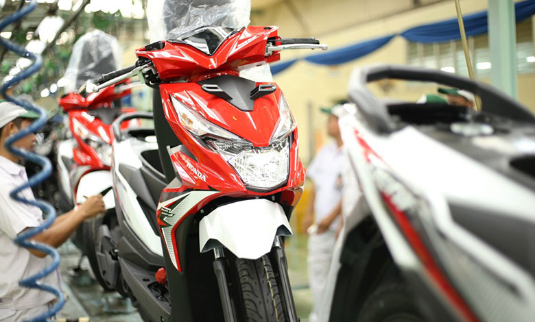 Honda BeAT Jagoan Ekspor di April 2018
