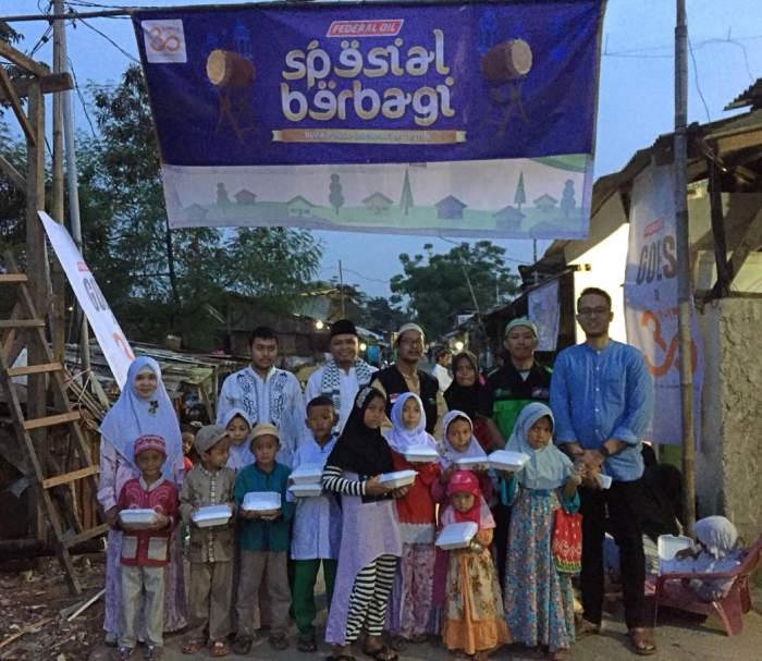 Federal Oil Gelar Buka Bersama Serentak di 30 Lokasi di Indonesia