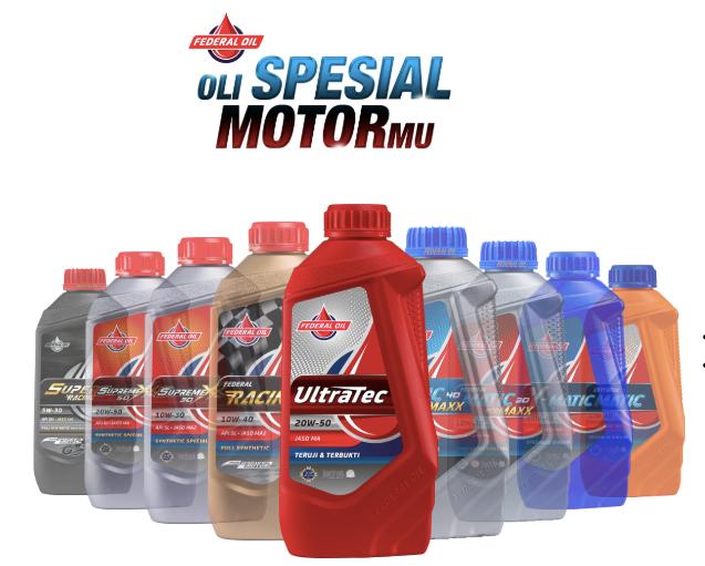 Federal Ultratec, Oli Motor Spesial Motormu