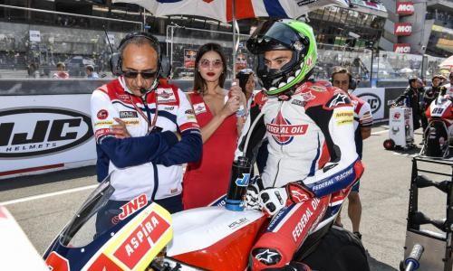 Moto2 Le Mans, Jorge Navarro Gagal Finish