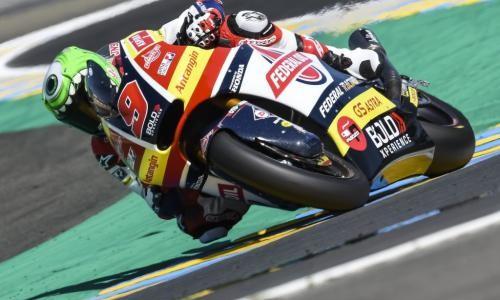 Kualifikasi Moto2 Le Mans, Jorge Navarro Dirudung Kendala