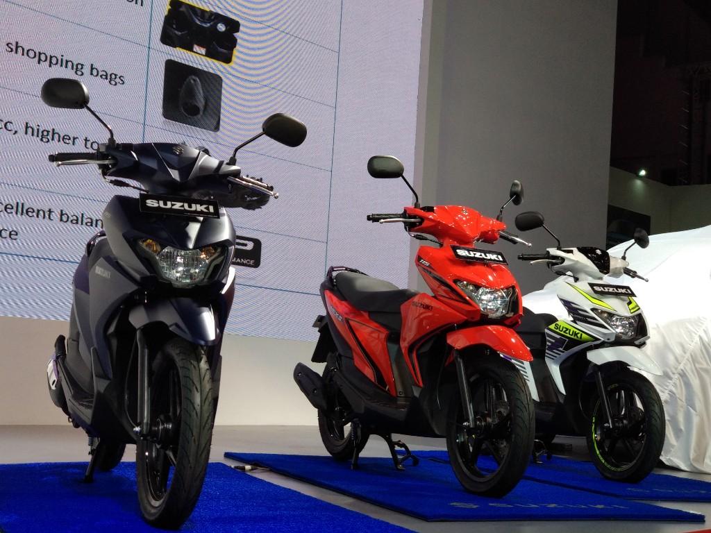 Suzuki Nex II, Pilihan Warnanya Asik Feders
