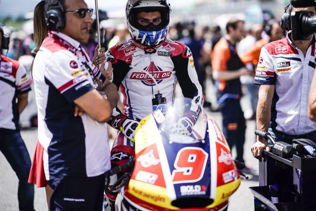 Moto2 Mugello 2018, Naas Untuk Jorge Navarro